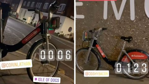 A WHEELY GOOD TIME: LONDON NEWBIE STRANDED IN CAPITAL FOR NIGHT DUE TO CANCELLED TRAIN TAKES ON 67 MILE BORIS BIKE CHALLENGE – VISITING 25 ATTRACTIONS IN EIGHT HOURS Image