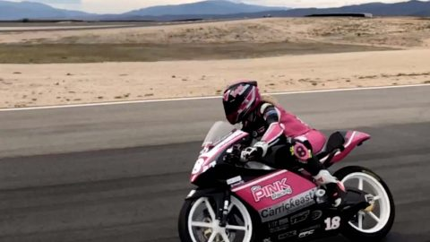 MOTORBIKE CHAMP SLAMS BLOKES WHO SAY SHE CANT WIN RACES BECAUSE SHES A GIRL Image