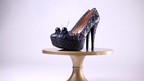 WEDGE OF CAKE? DESIGNER CREATES CAKE-INSPIRED SHOES THAT LOOK SO GOOD YOULL WANT TO TAKE A BITE! Image