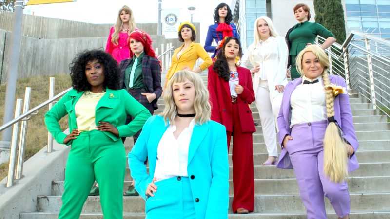 PRINCESS SQUAD: DISNEY PRINCESSES LEAVE GLASS SLIPPERS AT HOME TO GET SUITED AND BOOTED WITH BOSS BABE SQUAD Image