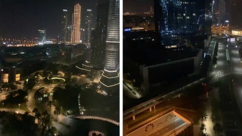 DUBAI BECOMES EERIE GHOST TOWN DURING COVID-19 CURFEW Image
