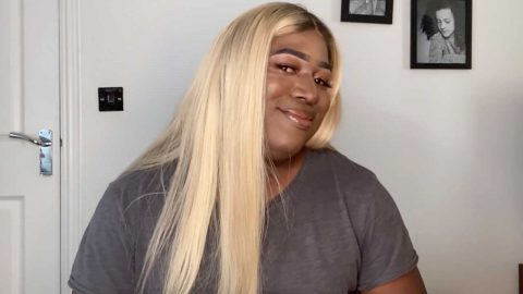 DRAG QUEEN DAD: YOUTUBER ROPES DAD INTO HILARIOUS MAKE-UP TUTORIAL VIDEO Image