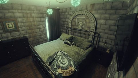 SPENDING THE NIGHT IN A 'CHAMBER OF SECRETS' – HEAD STRAIGHT TO HARRY POTTER THEMED AIRBNB WHEN LOCKDOWN IS OVER Image