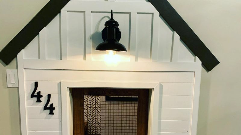 MUM CREATES INCREDIBLE MINI HOUSE REPLICA INSIDE HER HOME FOR 5ST PUP Image