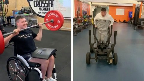 INSPIRATIONAL LAD OVERCOMES CEREBRAL PALSY TO BECOME FITNESS AND WELLNESS BLOGGER Image