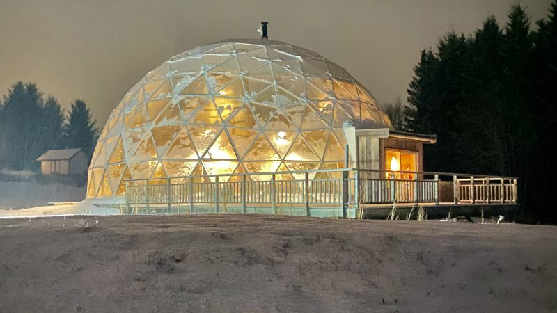 COUPLE BUILD AN INCREDIBLE ECO-FRIENDLY DOME Image