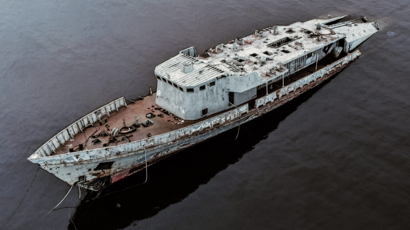 HISTORY FANATIC VISITS SECRET REMOTE LOCATIONS IN OVER 50 COUNTRIES TAKING EERIE IMAGES OF ABANDONED MILITARY EQUIPMENT Image