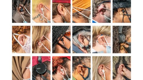 I'M ALL EARS! PHOTOGRAPHER TAKES PICTURES OF STRANGERS EARS HE MEETS IN THE STREET Image