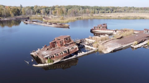 CHILLING PHOTOGRAPHS OF CHERNOBYL GHOST TOWN AS IT LOOKS TODAY Image