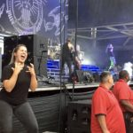 Amazing video shows sign language interpreter translating metal music for the deaf