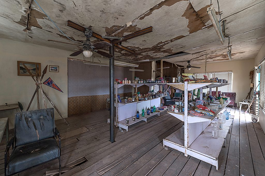 Creepy Photographs Show The Abandoned Gas Station From Horror Film The Hills Have Eyes
