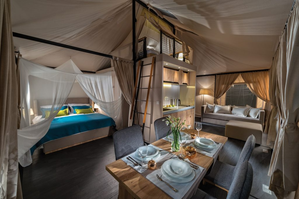 Luxury firm flogging high end tents for