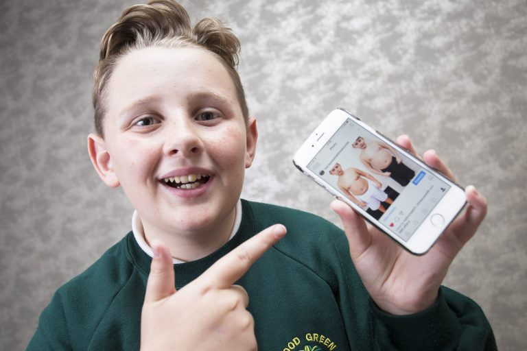 12 Year Old Schoolboy Becomes Weight Loss Insta Sensation After School Sends Letter Saying He Is Overweight
