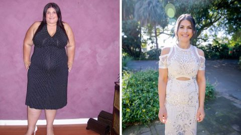 Woman forced to wear maternity clothes to fit obese frame undergoes shocking transformation Image