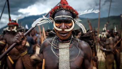 Stunning Snapshots Reveal Enduring Tradition's Of Isolated Indonesian Tribe Image