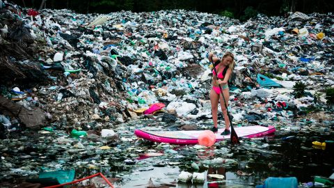 Explorer travels the world for more than a decade to raise awareness of plastic pollution Image