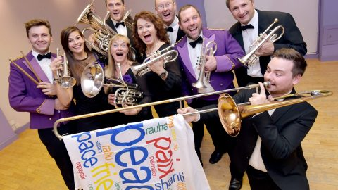 Britains longest running brass band sends album to every world leader on 120th anniversary in bid for world peace Image