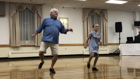 Tap off the ol' block: 10-year-old girl asked her 72-year-old grandfather to be her tap partner – and the outcome is adorable Image