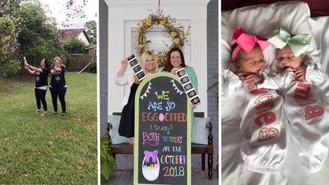 Same Sex Couple Who Overcame Fertility Issues To Miraculously Both Become Pregnant At The Same Time Image