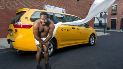 Forget ripped firefighters and hunky policemen - Calendar shows off sexy side of New Yorks cabbies Image