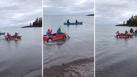 Its a me, Mario... School science project brings Mario Kart to life Image