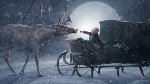 Photographers create magical Christmas portraits for 200 sick children around the world Image