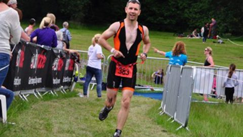 Super-fit dad completed three Ironmans not knowing he had rare cancer after mistaking it for post-race fatigue Image