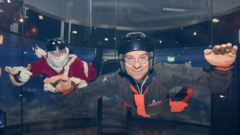 Bear Grylls puts Santa through his paces just in time for December 24 Image