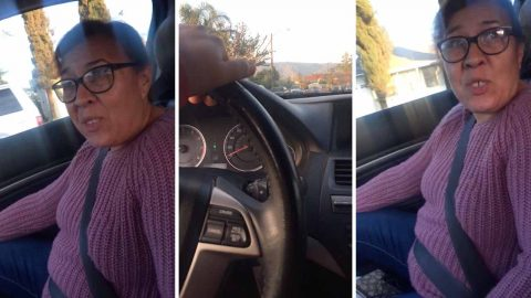 Mum criticises daughter for driving too slow Image