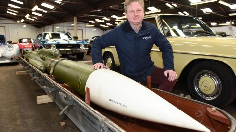 Explosive Auction! Mystery Russian Missile Set To Go Under The Hammer Image