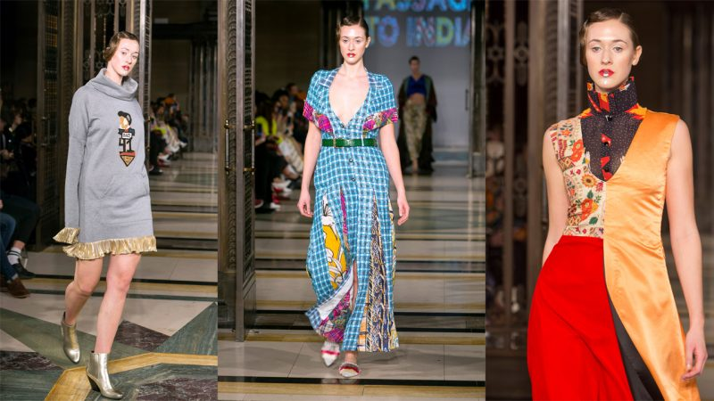 Irish teenager told she's 'too tall' to become model defies bullies to walk at London Fashion Week Image