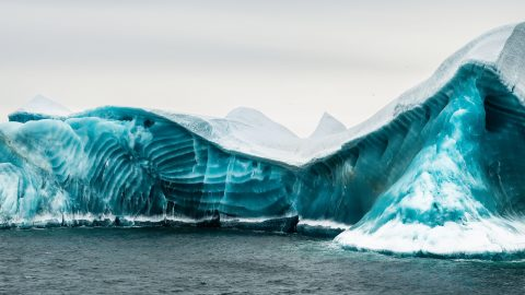 Icebergs – Like You've Never Seen Them Before! Algae In Water Creates Stunning Turquoise 'jadebergs' Image