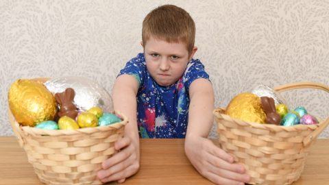 Not So Egg-celent! Mum Speaks Out About Seasonal Stress As Son Is Allergic To Easter Image