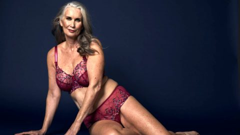 Glam Mum, 59, Who Wouldn't Wear A Bikini 30 Started Lingerie Modelling Career Aged 53 – And Now Jets All Over The World Image