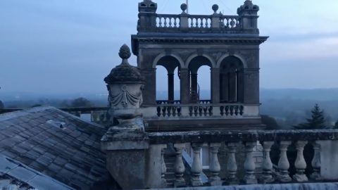 James Bond Location Lies M-ty! Urban Explorers Visit Abandoned £23m Mansion Used In 007 Film Never Say Never Again Image