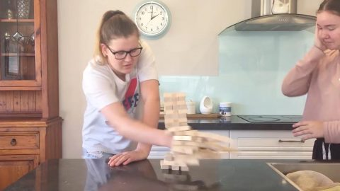 Bricking It: Girl With Tourettes Shows How She Plays Jenga Image