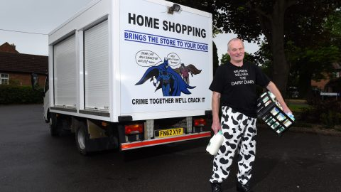 Crime Fighting Milkman Sees Drink-driver Brought To Justice (And Its Not The First Time Hes Been 4th Emergency Service For His Customers) Image