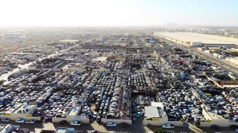 Supercar Graveyard: Bizarre Images Of Supercar 'Graveyard' Where The World's Most Expensive Cars Sit Gathering Dust Image