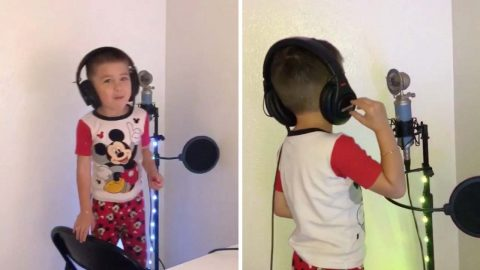 Move Over Jay Z: Four-year-old Writes And Performs His Own Adorable Rap Song Image