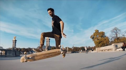 Innovative Long-boarders Fuse Dancing With Tidy Tricks In Impressive Video Image