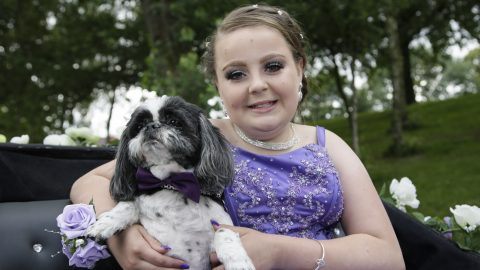 Doting Mum Keeps Her Prom-ice – Mum Forks Out £1,000 For Primary School Daughters Prom Night Image