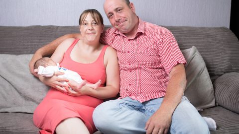 Mummys Little Miracle! Brave Cervical Cancer Mum Gives Birth To Miracle Baby Son - Three Years After Being Told She Had Months To Live And Was Infertile Image