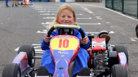 MEET THE 10-YEAR-OLD RACING DRIVER WHO RACES AT 55MPH DESPITE BEING SEVEN YEARS OFF PASSING DRIVING TEST Image