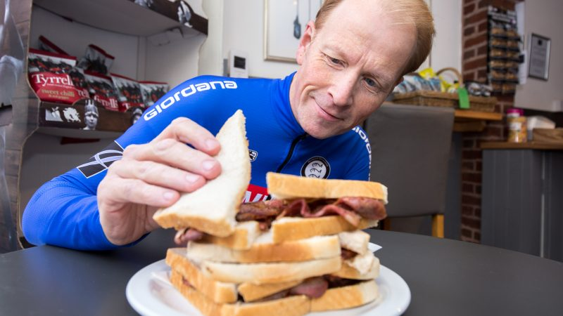 BACON SARNIE LOVER HAS CONSUMED 10,950 IN THREE DECADES - AND IS THRILLED AS BACON IS GIVEN GREEN LIGHT BY HEALTH BOFFINS Image