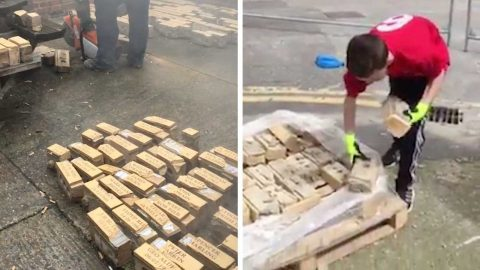 BRICK BY BRICK – TEEN REUNITES 500 FAMILIES WITH BRICKS DEDICATED TO LOVED ONES Image