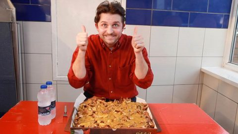 KEBABSOLUTELY MONSTEROUS – WORLD'S BIGGEST KEBAB IN A BOX Image