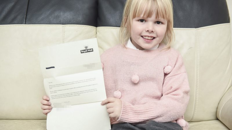 HEARTBROKEN DAUGHTER SENDS BIRTHDAY CARD TO DEAD DAD AND RECEIVES SURPRISE REPLY FROM HEAVEN Image