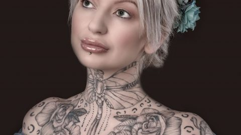 IS THIS UKS MOST TATTOOED MUM? MUM-OF-THREE BOASTS OVER 100 PIECES OF ART WORK ACROSS BODY Image