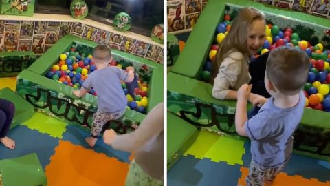 MUM TRANSFORMS CONSERVATORY INTO INCREDIBLE SOFT PLAY ROOM FOR SONS SECOND BIRTHDAY Image