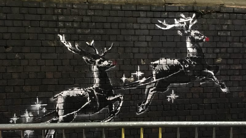BANKSY'S LATEST MURAL VANDALISED Image